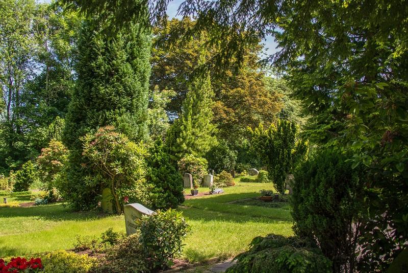 Friedhof Gruiten Natur