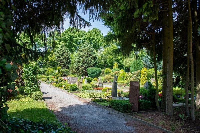 Friedhof Gruiten Wege
