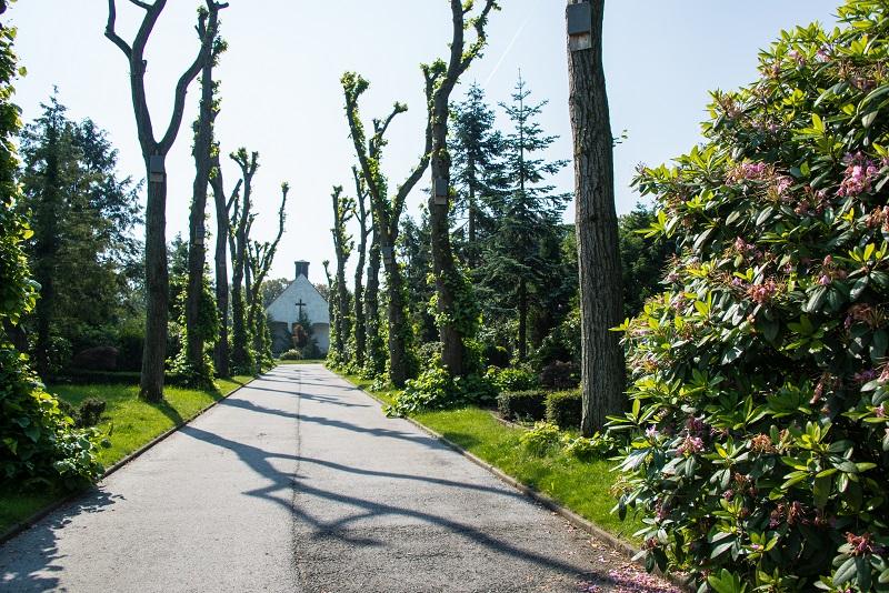 Friedhof Velbert Allee Kapelle