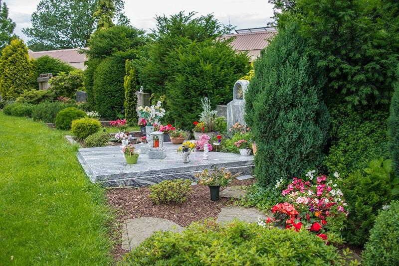 Friedhof Velbert Grab